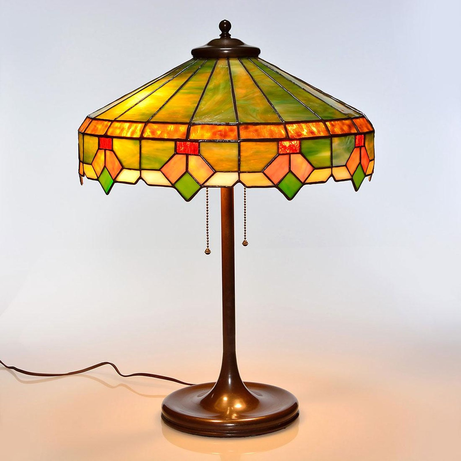 and glass second discount lamp yellow table hand off pink lamps decor