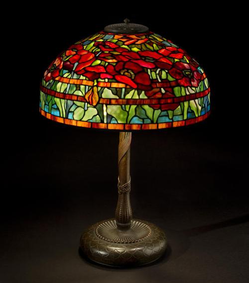 Tiffany Studios Oriental Poppy Table Lamp