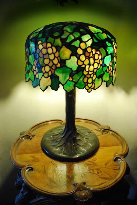 Grape Table Lamp Riviere Studios And Amphora Sculpture