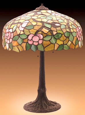 Chicago Mosaic Table Lamp