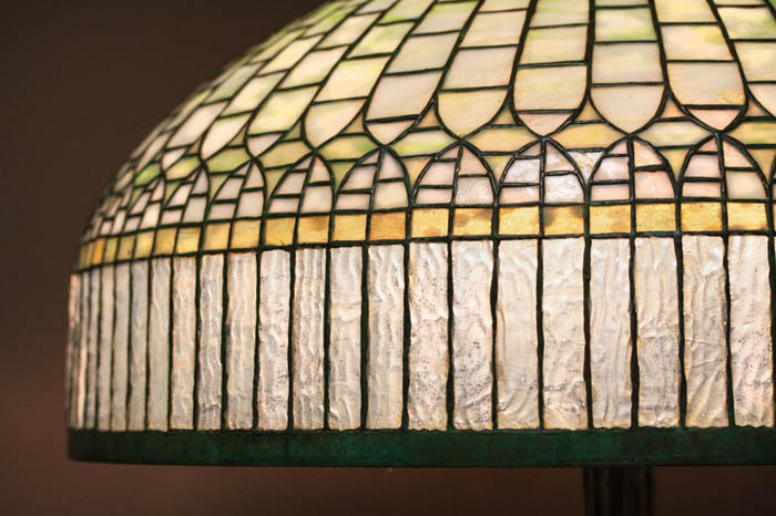 Tiffany Studios Curtain Border Floor Lamp