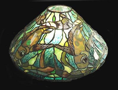 Tiffany Studios 16 Quot Fish Table Lamp