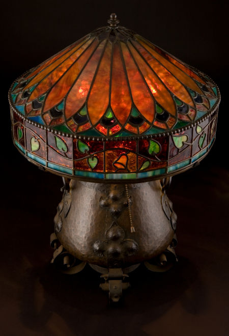 Onondaga Metal Shops Table Lamp