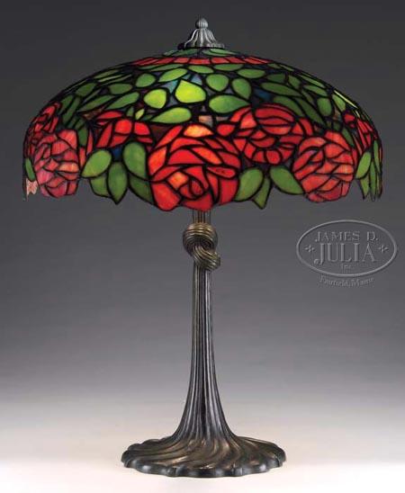 Gorham Rose Table Lamp