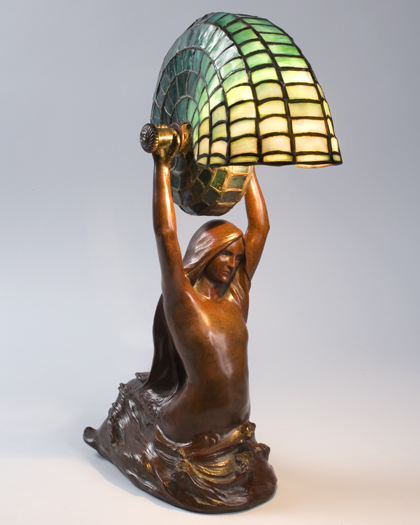 Tiffany Studios Nautilus Table Lamp