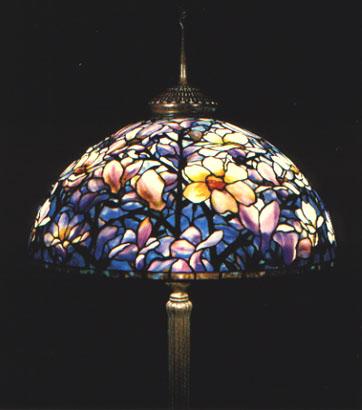 Tiffany magnolia floor lamp 1910 1915 mozeypictures Images