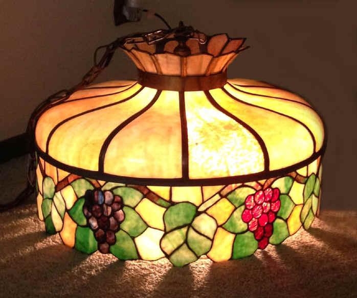 Chicago Lighting Company: Chicago Mosaic Grape Chandelier
