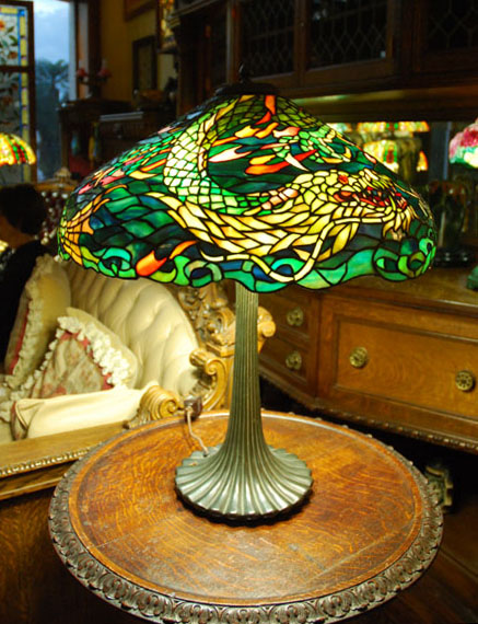 Marvelous Duffner U0026 Kimberly Dragon Table Lamp