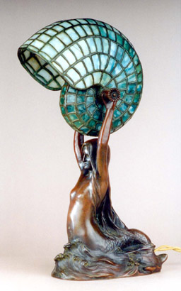 Nautilus Table Lamp Tiffany Studios C1895