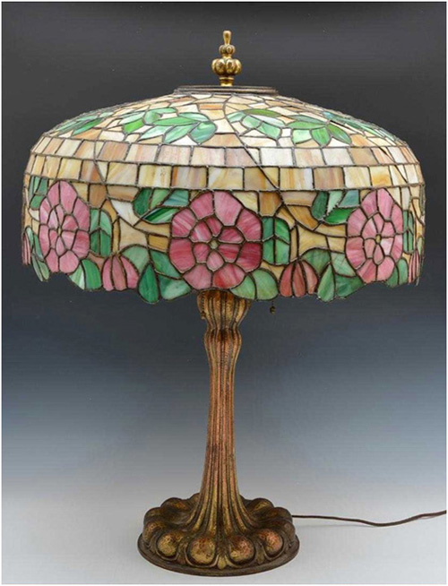 Albert Sechrist Leaded Table Lamp