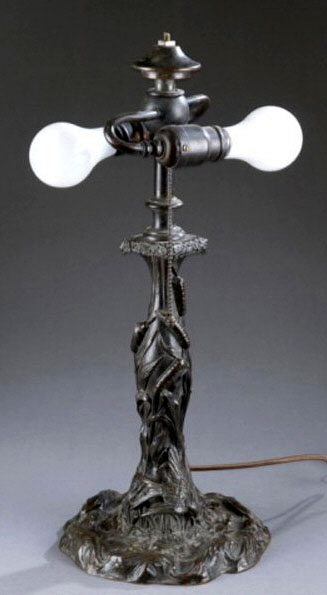 Gorham Floral Table Lamp