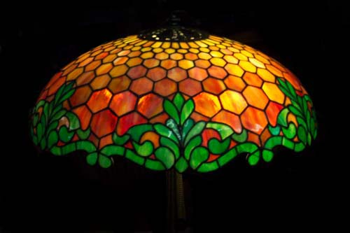 Reed And Barton Leaded Table Lamp