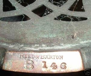 Reed Amp Barton Acorn Table Lamp