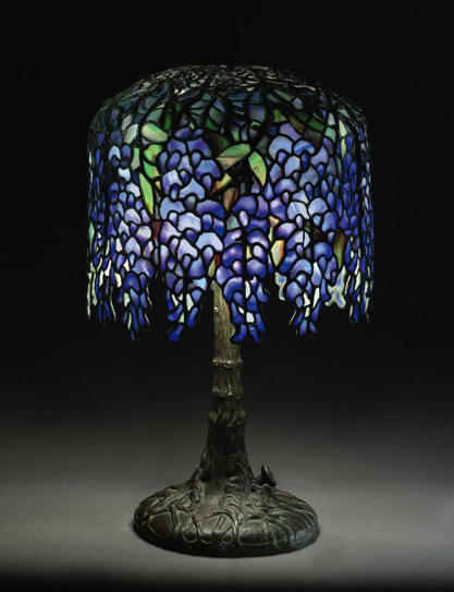 Tiffany studios pony wisteria table lamp aloadofball Choice Image