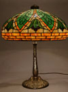 Gorham Green Floral Lamp