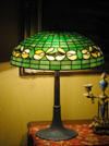 Suess Ornamental Glass Company - Honeysuckle Border Lamp