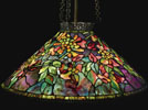 Tiffany Studios Trumpet Creeper Chandelier