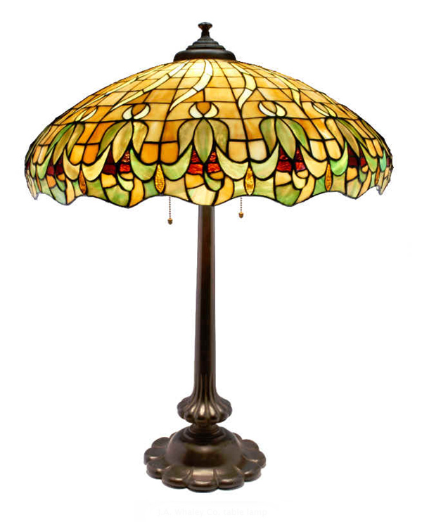 Whaley Leaded Lamp
