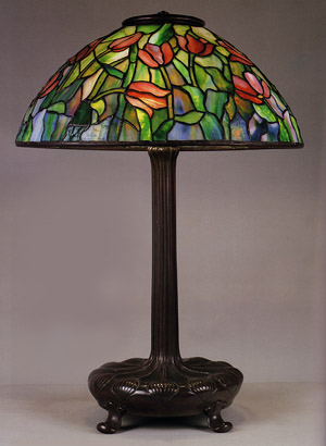 A Tulip Table Lamp Tiffany Studios Circa 1899 1920
