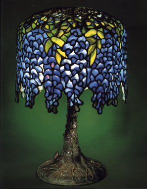 Tiffany Studios Miniature Wisteria Table Lamp